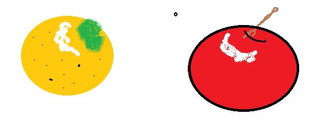 りんごとミカン