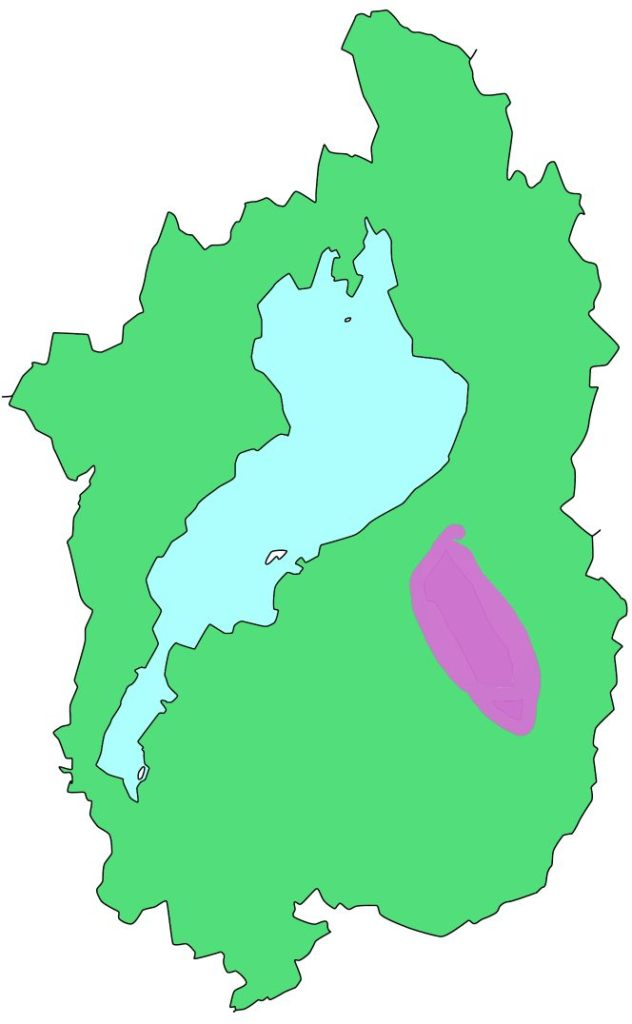 湖東県立自然公園の登録箇所