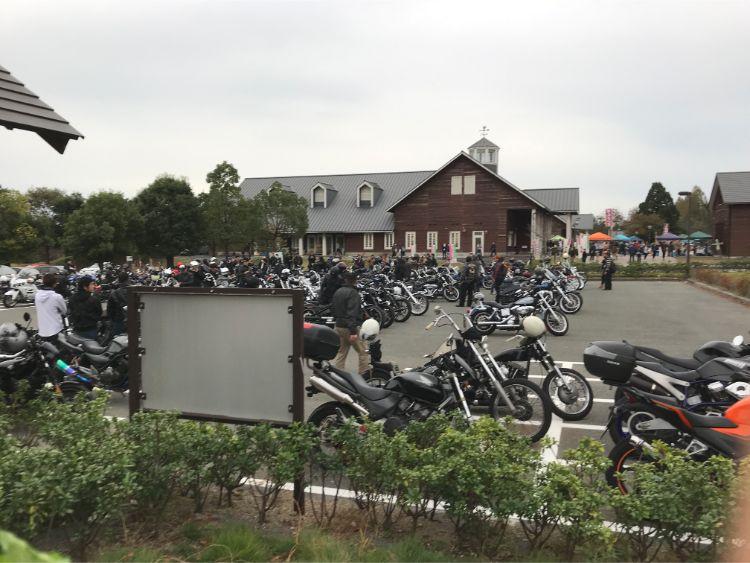 マキノピックランドバイク駐車場