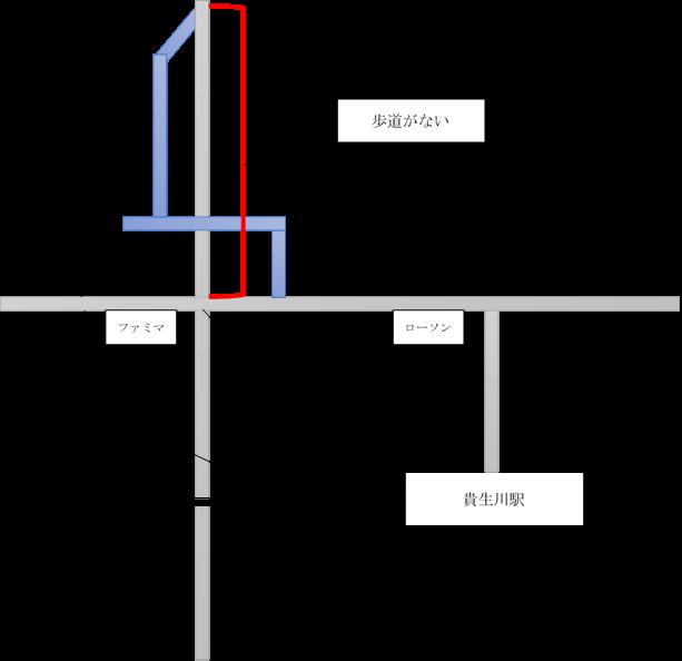 貴生川駅周辺