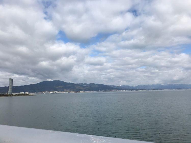 近江大橋からの眺め(北側)