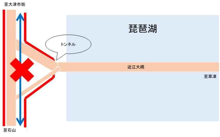 近江大橋西詰図解