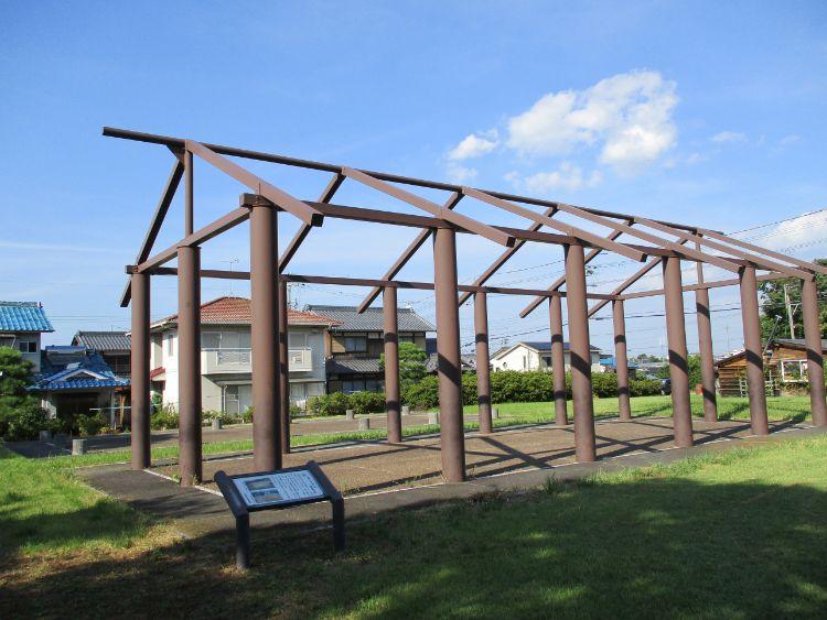 近江国庁西側掘立柱建物