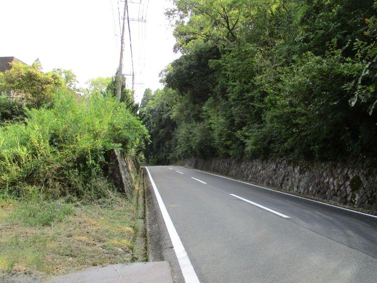 関津峠頂上付近