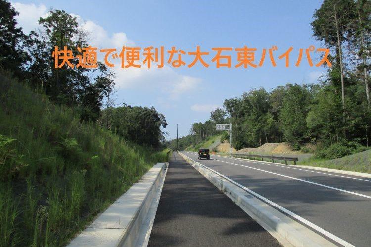 大石東バイパス関津峠出口田上側