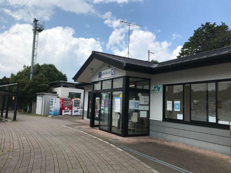 草津パーキングエリア(上り)シャワーステーション
