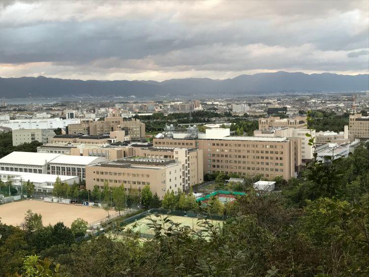 牟礼山展望台から見える眺め