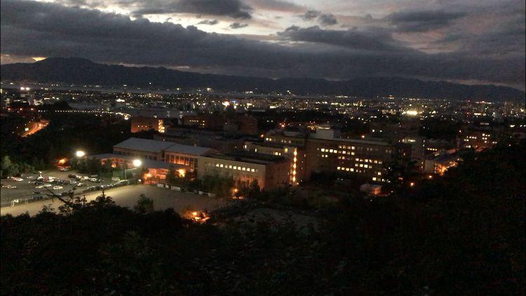 牟礼山の夜景