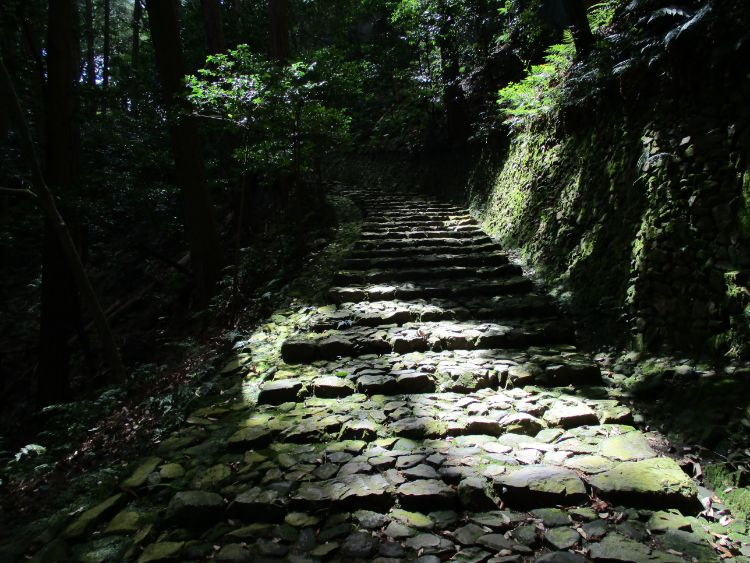 立木観音旧参道石段