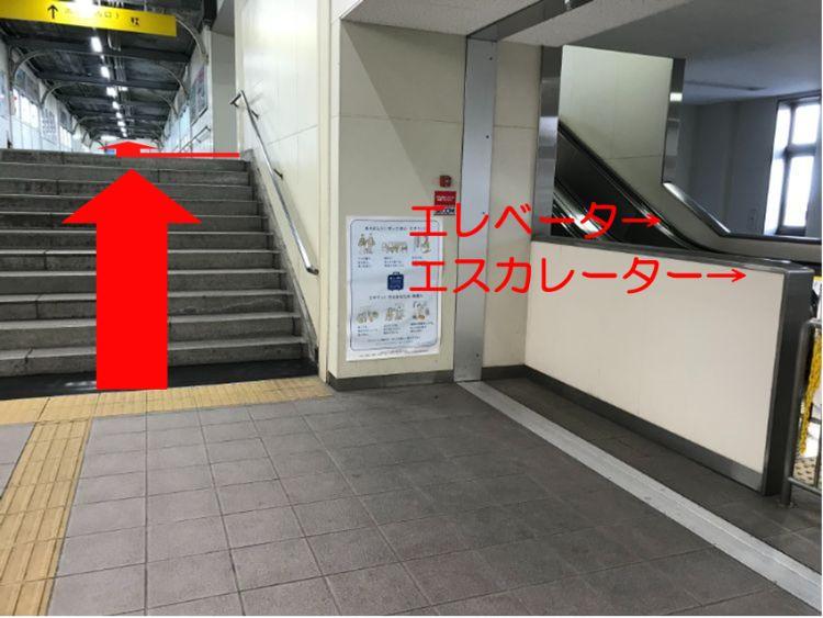 米原駅自由通路