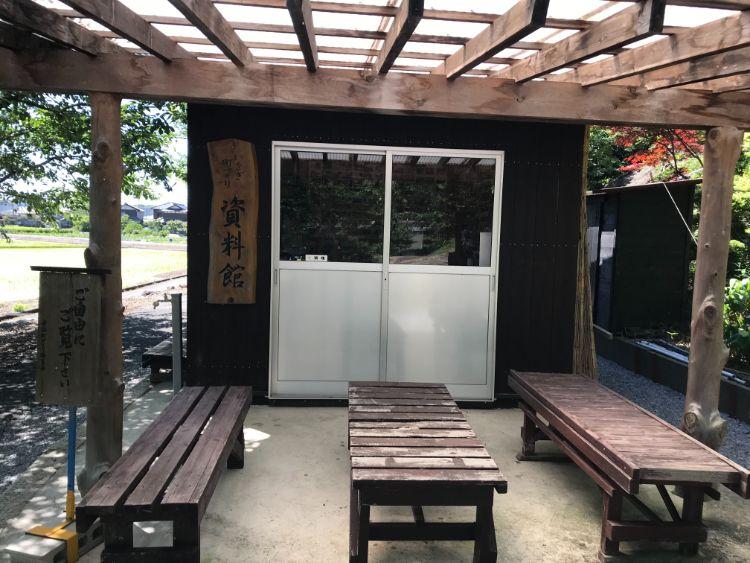 岩脇蒸気機関車避難壕資料館