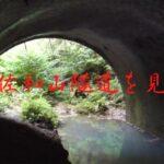 獣道を進み、旧佐和山トンネル(隧道)を見学。