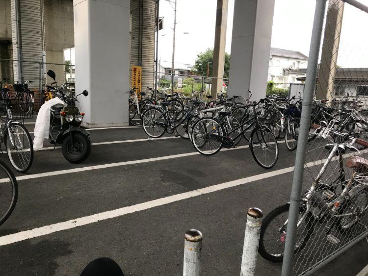 志賀駅駐輪場