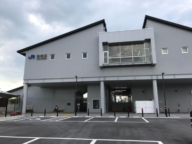 稲枝駅東側