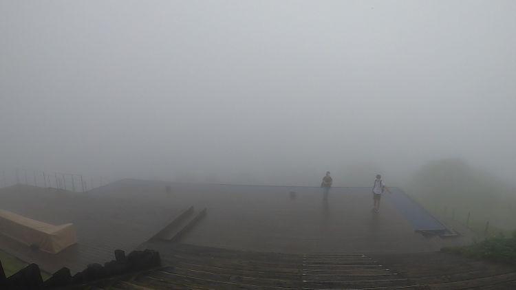 霧のびわ湖テラス