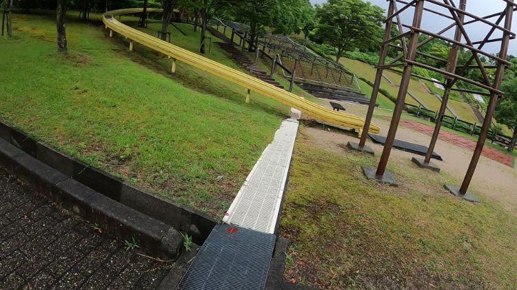 清林パーク滑り台